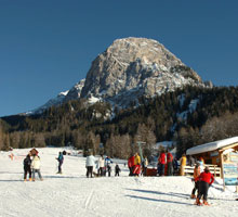 Ski resorts in Pusteria valley
